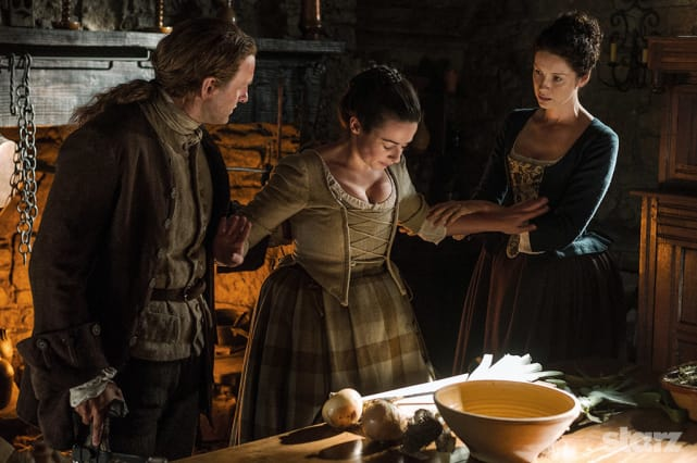 Looking after jenny outlander