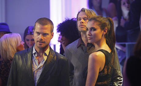 Deeks and the Gang