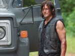 Daryl's in town - The Walking Dead Season 6 Episode 9