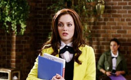 Blair Waldorf in Yellow