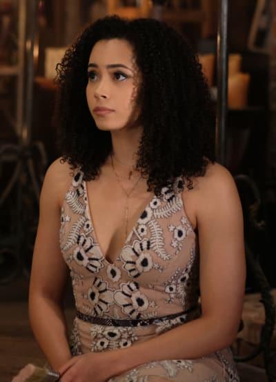 Macy In A Cute Dress - Charmed (2018) Season 1 Episode 5