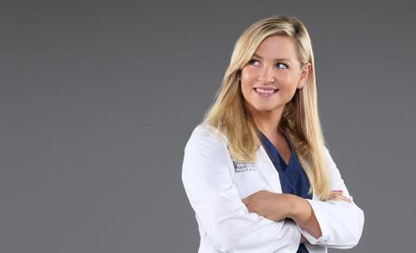 Jessica Capshaw as Dr. Arizona Robbins - Grey's Anatomy