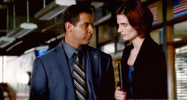 Javier Esposito and Kate Beckett - Castle