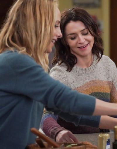 Guiding Teddy - Tall - Grey's Anatomy Season 17 Episode 10