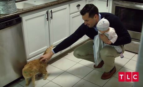 Jeremy with a Cat - Counting On