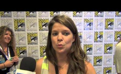 Caroline Dries Comic-Con Interview