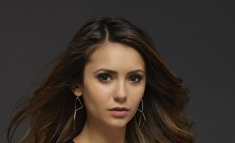 Nina Dobrev Promo Image - The Vampire Diaries