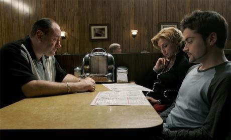 Sopranos Finale Photo - The Sopranos