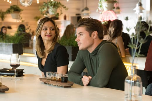 Having Lunch - The Arrangement Season 2 Episode 3