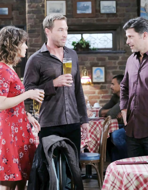 (TALL) Hanging Out at the Pub - Days of Our Lives