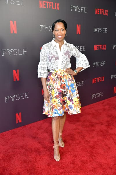 Regina King Attends Seven Seconds Panel