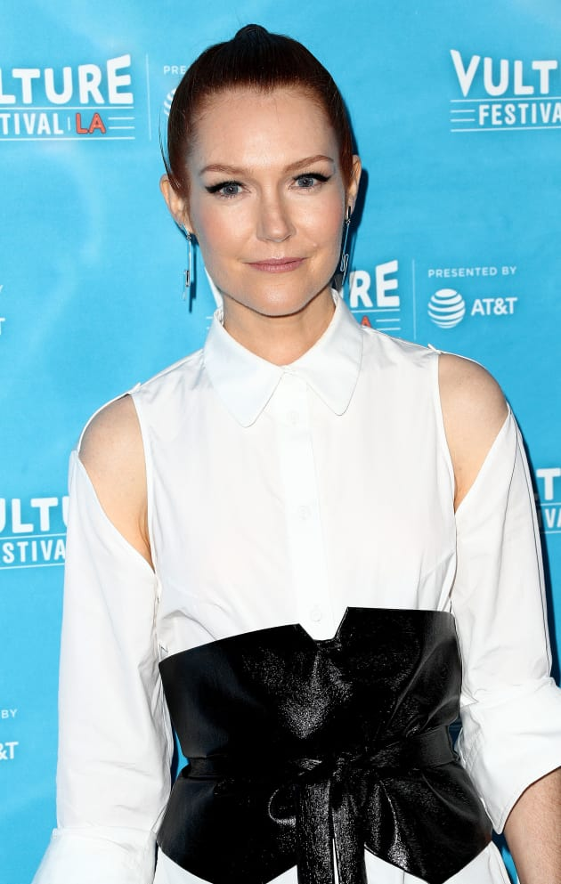 Darby Stanchfield attends the Vulture Festival