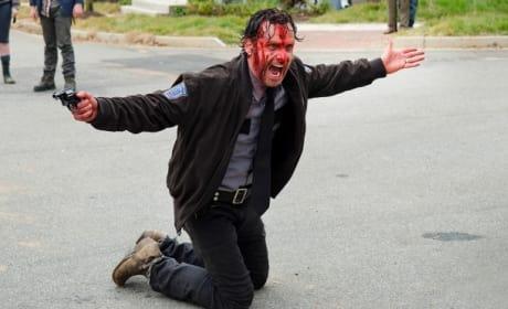 Bloody Rick Grimes - The Walking Dead Season 5 Episode 15