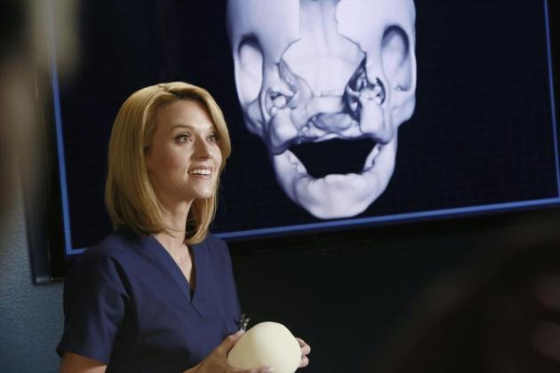 Hilarie Burton on Grey's Anatomy