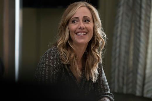Smiling Teddy - Grey's Anatomy Season 14 Episode 1