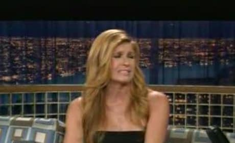 Connie Britton on Conan