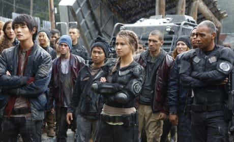 The Sky People - The 100 Season 4 Episode 4