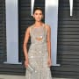 Nina Dobrev Attends Oscars Party