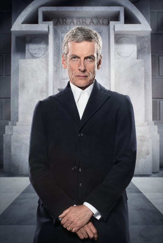 Peter capaldi as the doctor doctor who s8e5