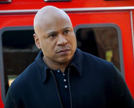 Befuddled Agent - NCIS: Los Angeles Season 9 Episode 21