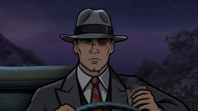 Archer with a busted eye Season 8 Episode 4