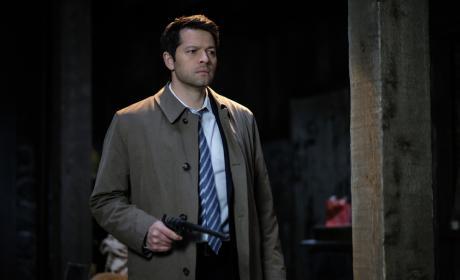 Castiel has the Colt - Supernatural Season 12 Episode 19