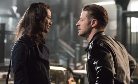 Valerie and Jim - Gotham Season 3 Episode 1