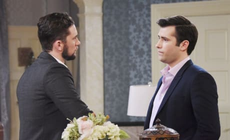 Chad and Sonny Argue - Days of Our Lives