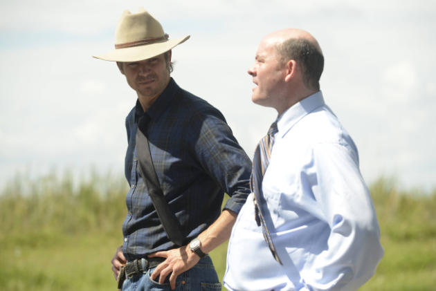 David Koechner on Justified