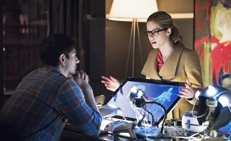 Pleading with Ray - Arrow Season 3 Episode 15