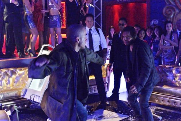 Cole and Ramse Fight - 12 Monkeys Season 1 Episode 11