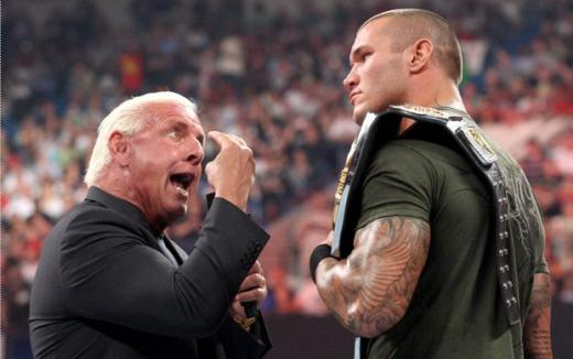 Flair vs. Orton