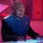 Bortus at the Com - The Orville Season 2 Episode 9