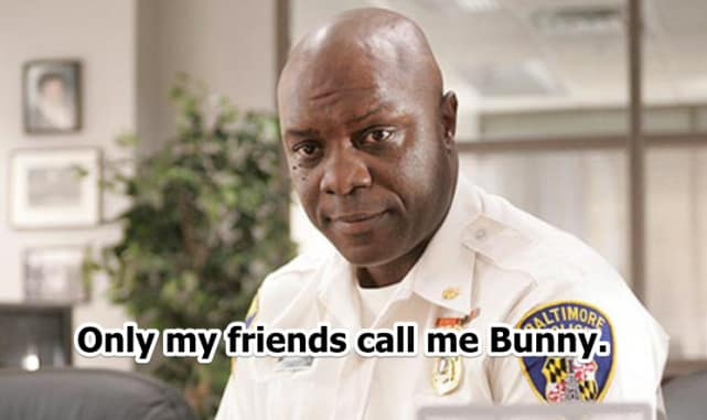 "The Wire: Major Howard ""Bunny"" Colvin"