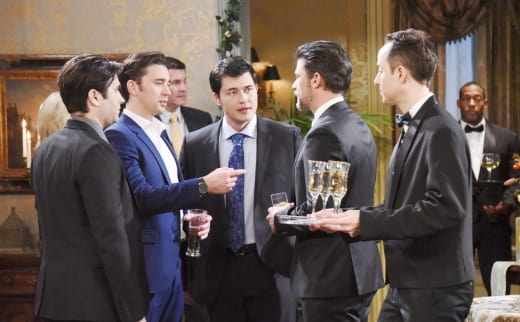 Party at the Martin House - Days of Our Lives
