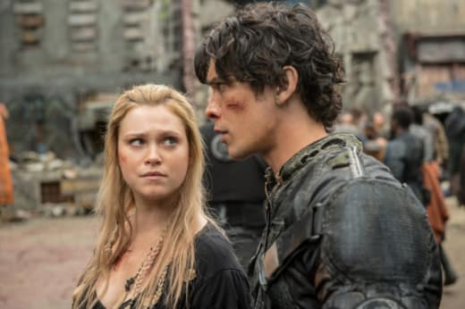 Bellamy and Clarke - The 100 Season 4 Episode 1