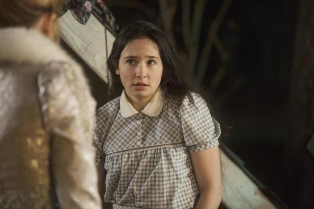Dorothy Looks Scared