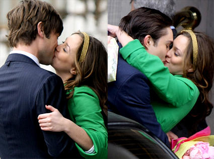 Leighton Meester Kissing Pics