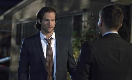 Sam's got a question - Supernatural Season 11 Episode 5