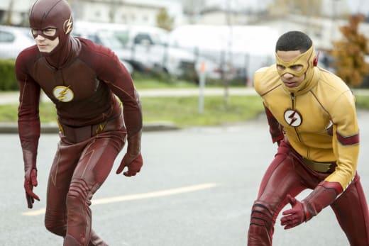 On Your Mark... - The Flash Season 3 Episode 12