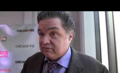 Oliver Platt Speaks on Chicago Med