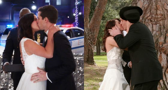 Jake and Amy (Brooklyn Nine-Nine) & Lily and Marshall (How I Met Your Mother)