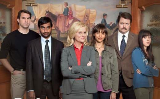 Parks & Recreation Cast Photo