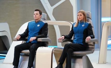 Captain and Commander - The Orville Season 2 Episode 7