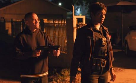 Bishop at Gunpoint - The Rookie Season 1 Episode 18