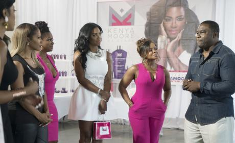 Kenya Moore Hair Care - The Real Housewives of Atlanta