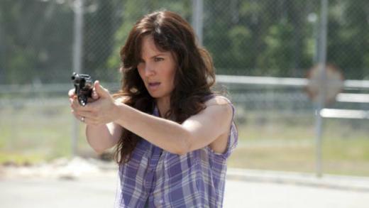 Lori on Walking Dead