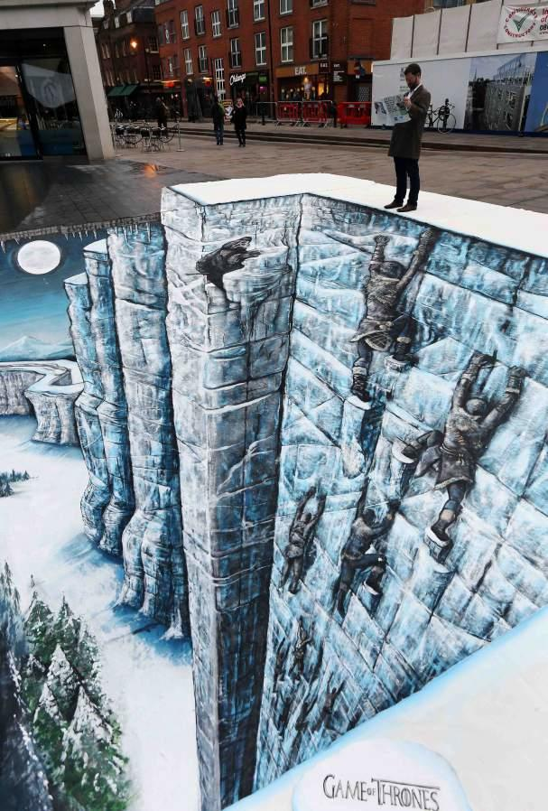 Game of Thrones Wall in London