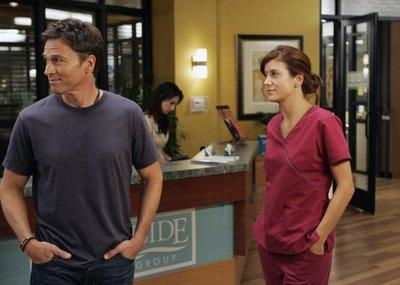 Addison and Pete at Work