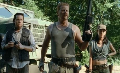 Michael Cudlitz on Walking Dead